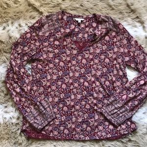 Lucky Brand Longsleeve Cotton/Modal Tunic - Medium